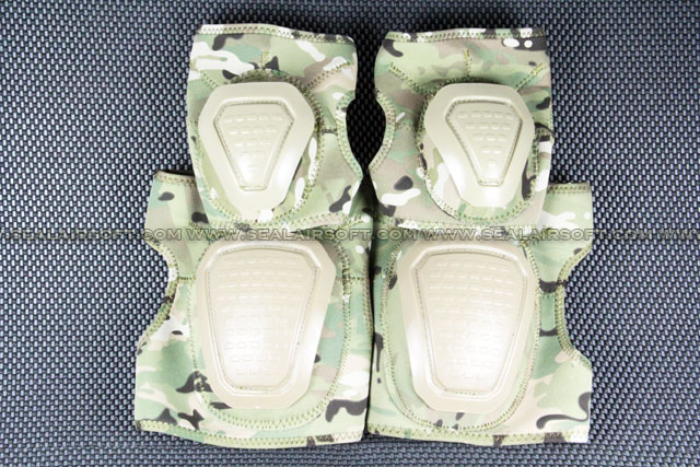 Special Force Airsoft Paintball Knee & Elbow Pad Set (Multi-Cam) KP-005-MC