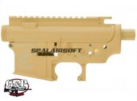 G&P SR16 URX E3 Metal Body (Type B) for Marui M4/M16 Series (Sand)