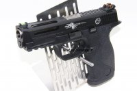 JRAK AETi / Chirs Costa Custom M&P9 GBB Pistol (Black)