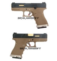 WE GBB Pistol Force Series - G19 T6